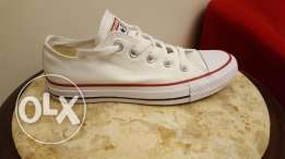 All Stars Converse New White original from the USA 36-37
