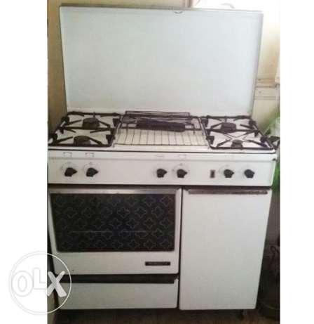 Oven with 6 places (gaz)
