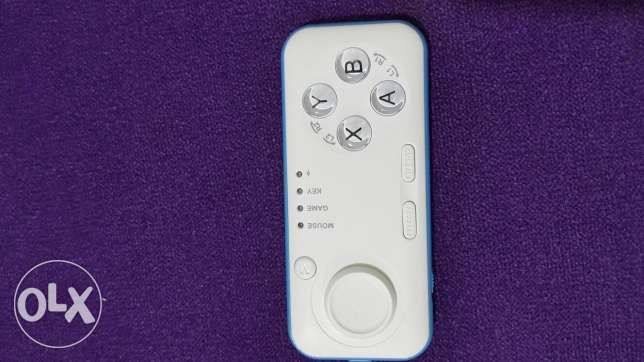 Gamepad + remote control