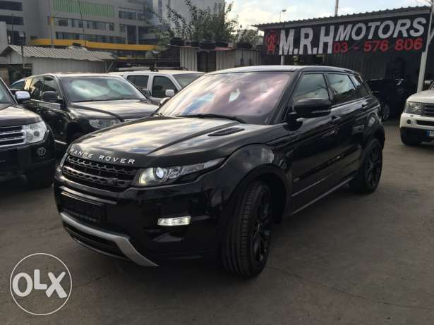 Stunning! Range Rover Evoque Dynamic Plus Black Edition Like New! بوشرية -  3
