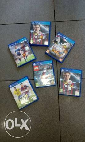 Used ps4 cds