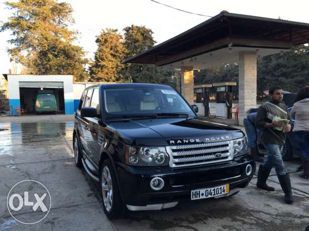 range rover supercharged 2008 حوش الزراعنة  -  7