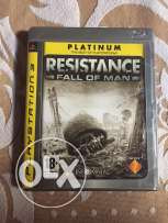 ps3 cd RESISTANCE (fall of man)