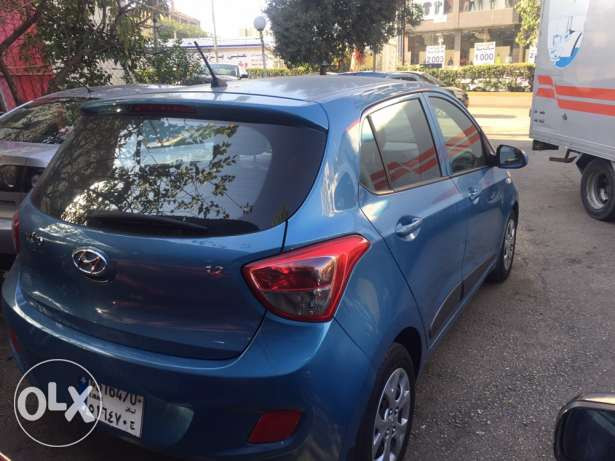 grand i 10 color blue model 2015 بعبدا -  5