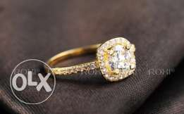 Roxi gold plated Ring
