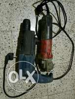 Hammer drill bosch and angle grinder milwaukee