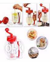 Pancake mixer and dispenser