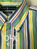 Original Ralph Lauren From the USA Shirt, Small and stripped.