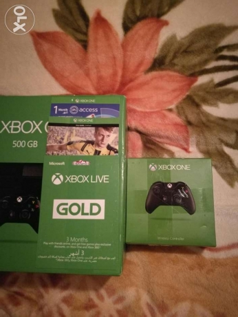 Xbox One package for sale (NEW/SEALED) هلالية -  1