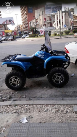 Atv grezli 660 cc model 2002