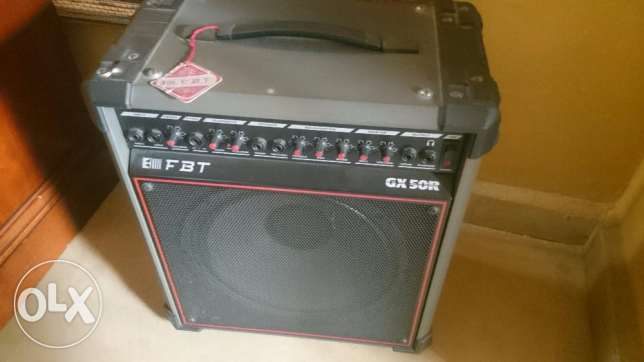FBT GX50R (electric amp made in Italy)