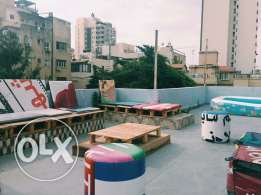 Furnished Rooftop For Rent In Sodeco