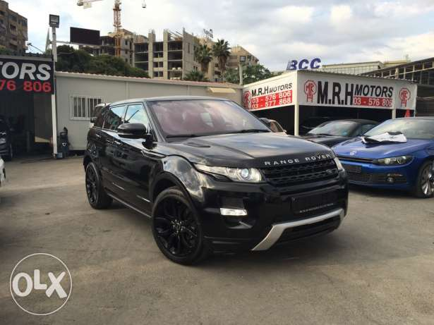 Stunning! Range Rover Evoque Dynamic Plus Black Edition Like New! بوشرية -  1
