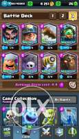 Clash royale for sale 9 legendary +the log