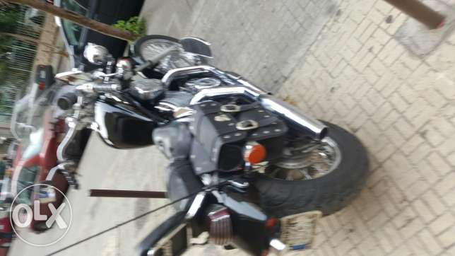 Motorcycle steed 400