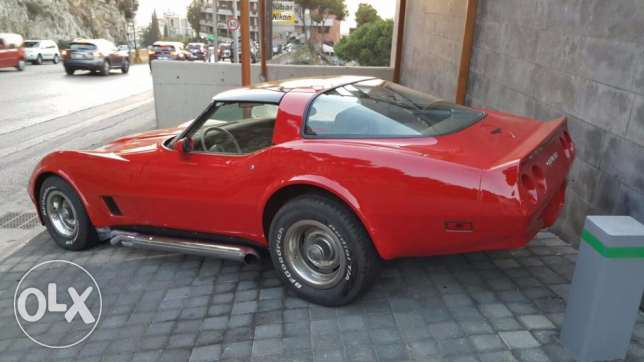 Chevrolet Corvette Stingray 1981 full options. 19k negotiable or trade المرفأ -  5