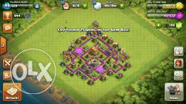 Clash of clans th6 max