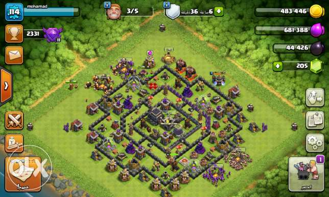 Account Clach of clans