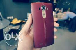 Special Edition LG G4 Red Leather Dual Sim, Full Pack & More.. !!