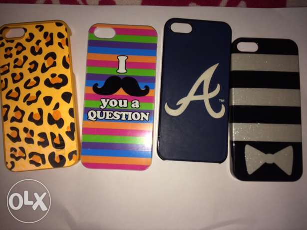 all 4 iphone 5s covers for 5$ زغرتا -  1