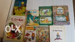 Kids french books