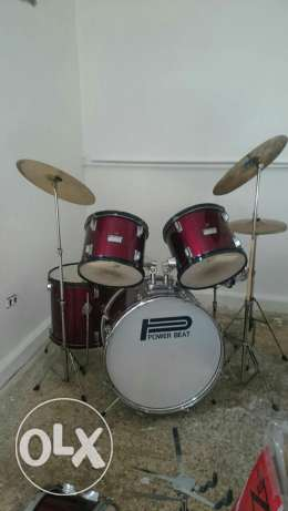 Drums power beat