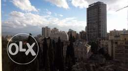 A new high-end duplex with a nice mountain view for sale in Achrafieh
