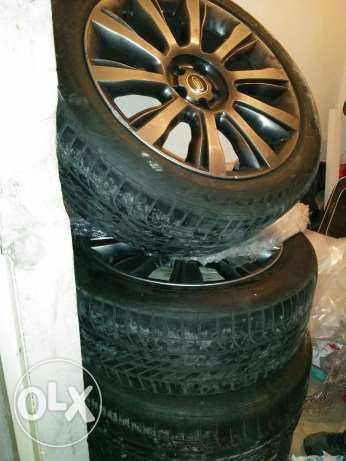 Original range rover vogue se rims 2014 طبرجا -  1