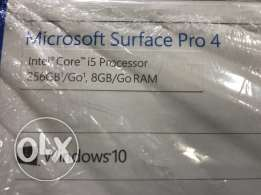 Microsoft surface pro 12.9 inch with pen i5 8gb 256