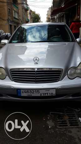 Mercedes-Benz-full option-silver-in good shape-