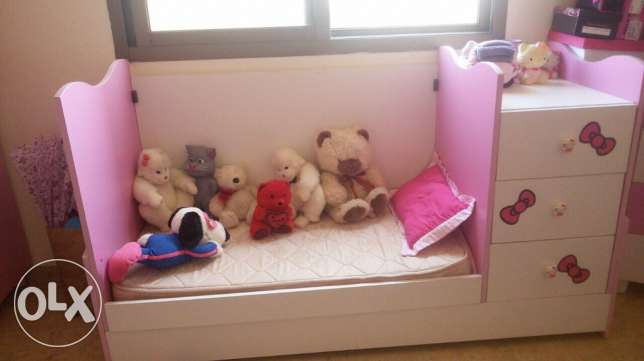 baby girl bed