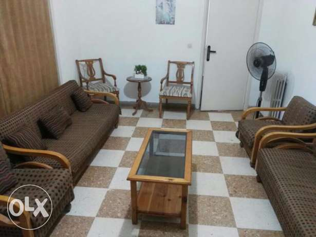 Fully furnished 2 beds Apt Ain El Remanneh