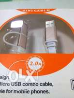 "USB cable ""2 in 1"""