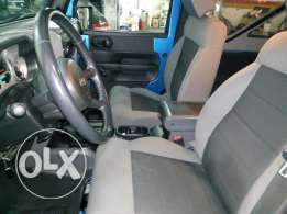 Wrangler sport automatic soft top blue color very clean