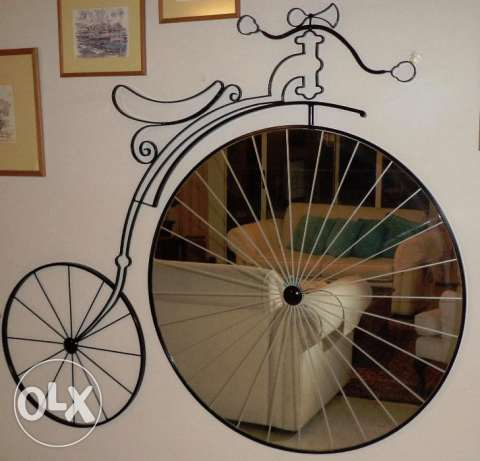 Mirror (Old Bicycle Shape)