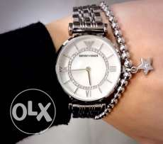 The new original EA silver classy watch for women