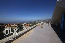 600m2 villa for sale in bikfaya