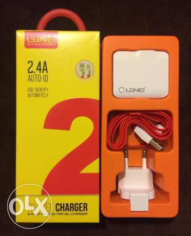 LDNIO Travel Charger For All Smartphones غازير -  1