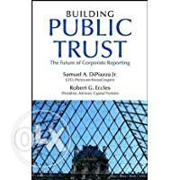 Building Public Trust: The Future of Corporate Reporting Hardcover – J