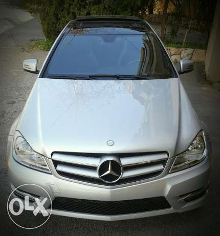 Mercedes C250 CGI coupe - look AMG - Year 2013