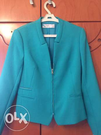 blazer, color: mint, new