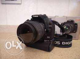 Canon EOS 350D + EFS18-55mm + Battery Grip BG-E3+ RC-1