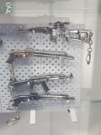 11cm weapons keychains