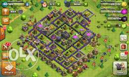 Clash of clans town hall 9 town hall 8 max