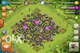 Clash of clans town holl 8 max