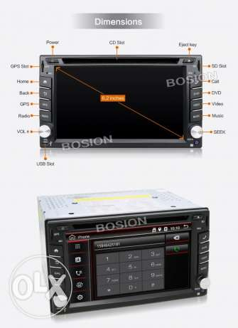 Newest Car radio/dvd gps android system