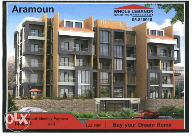 New Apartments for sale in Aramoun