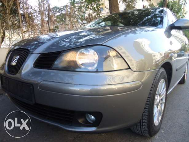 """EXCELLENT SEAT IBIZA 1.4 16v """"2005"""" ONLY 75000 KM Automatic !!!"""