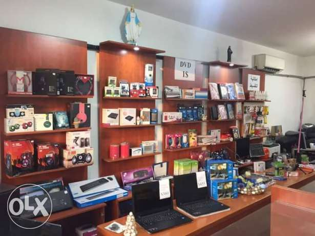 Computer shop for sale