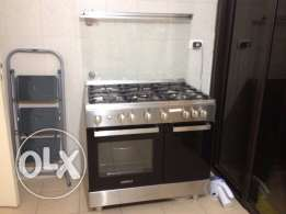 Stove Oven Campomatic + Samsung Fridge (As good as NEW)